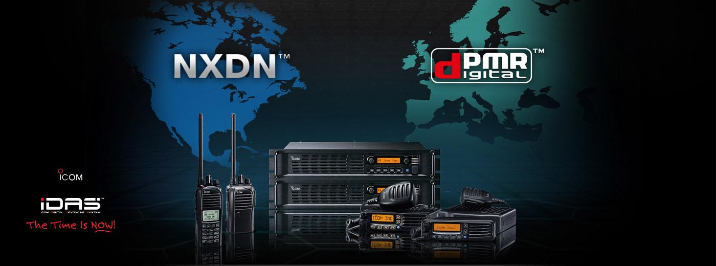 NXDN & dPMR Radios